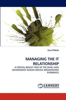 Managing the It Relationship