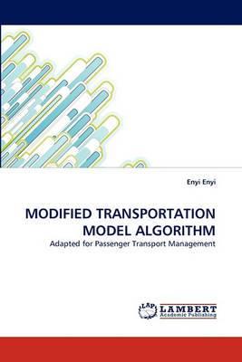 Modified Transportation Model Algorithm