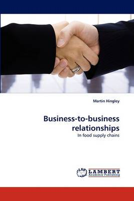 Business-To-Business Relationships