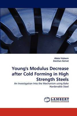 Young's Modulus Decrease After Cold Forming in High Strength Steels