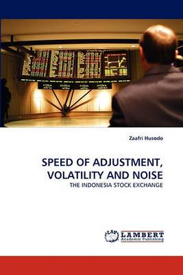 Speed of Adjustment, Volatility and Noise