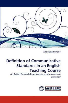 Definition of Communicative Standards in an English Teaching Course