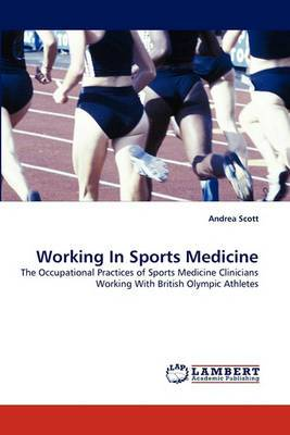 Working in Sports Medicine