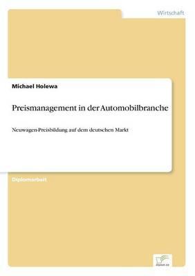 Preismanagement in Der Automobilbranche