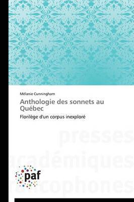 Anthologie Des Sonnets Au Quebec