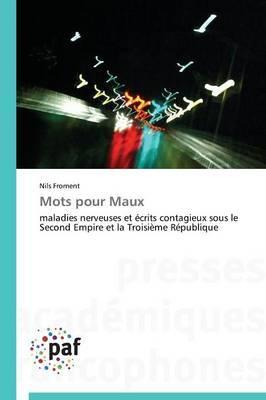 Mots Pour Maux