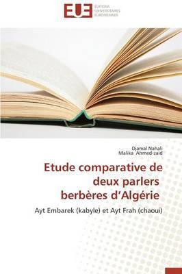 Etude Comparative de Deux Parlers Berberes D Algerie