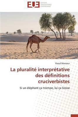 La Pluralite Interpretative Des Definitions Cruciverbistes