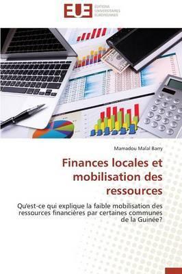 Finances Locales Et Mobilisation Des Ressources