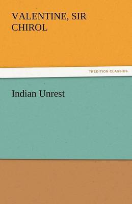 Indian Unrest