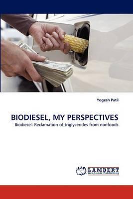 Biodiesel, My Perspectives