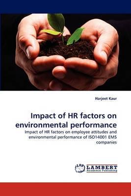 Impact of HR Factors on Environmental Performance