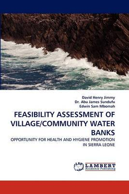 Feasibility Assessment of Village/Community Water Banks
