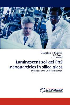Luminescent Sol-Gel PBS Nanoparticles in Silica Glass
