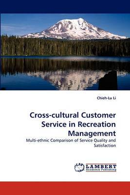Cross-Cultural Customer Service in Recreation Management