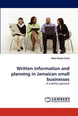 Written Information and Planning in Jamaican Small Businesses