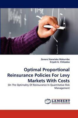Optimal Proportional Reinsurance Policies for Levy Markets with Costs
