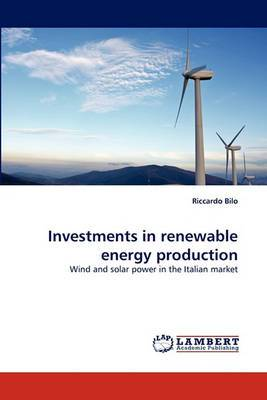 Investments in Renewable Energy Production