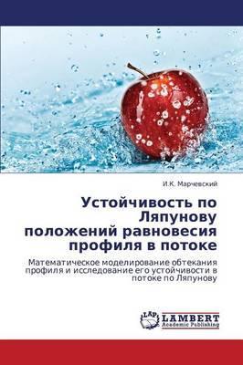 Ustoychivost' Po Lyapunovu Polozheniy Ravnovesiya Profilya V Potoke