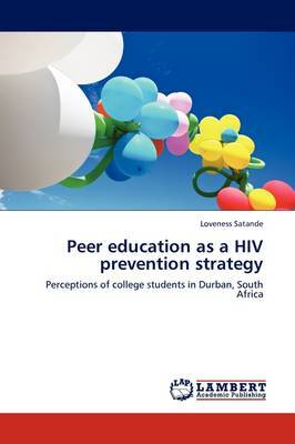 Peer Education as a HIV Prevention Strategy