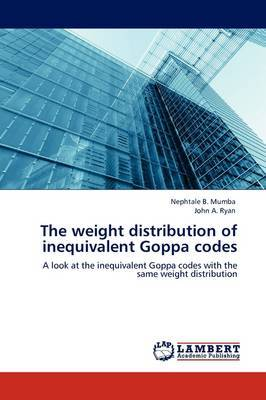 The Weight Distribution of Inequivalent Goppa Codes