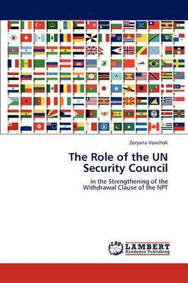 The Role of the Un Security Council