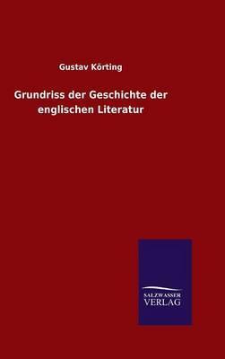 Grundriss Der Geschichte Der Englischen Literatur