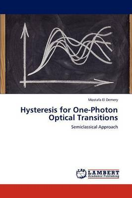 Hysteresis for One-Photon Optical Transitions