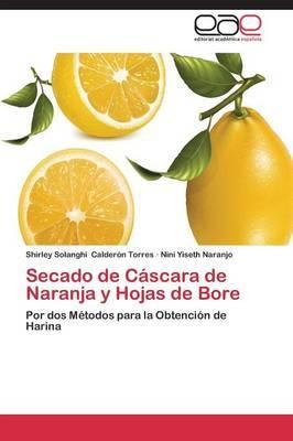 Secado de Cascara de Naranja y Hojas de Bore