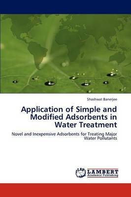 Application of Simple and Modified Adsorbents in Water Treatment