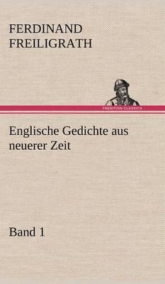 Englische Gedichte Aus Neuerer Zeit 1