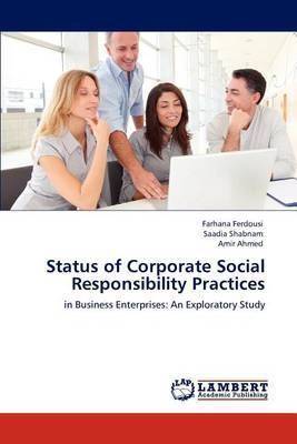 Status of Corporate Social Responsibility Practices