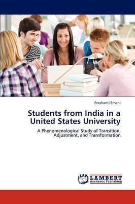 Students from India in a United States University