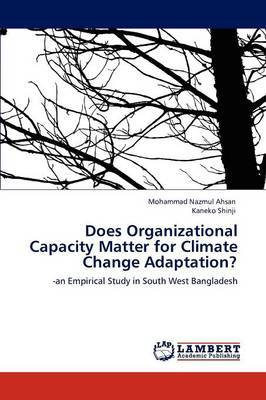 Does Organizational Capacity Matter for Climate Change Adaptation?