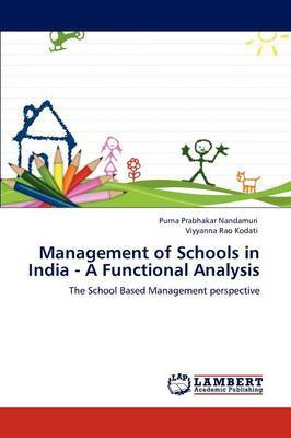 Management of Schools in India - A Functional Analysis