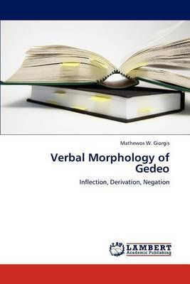 Verbal Morphology of Gedeo