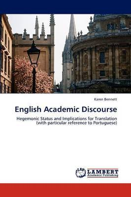 English Academic Discourse