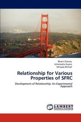 Relationship for Various Properties of Sfrc