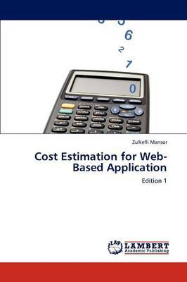 Cost Estimation for Web-Based Application