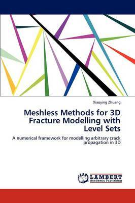 Meshless Methods for 3D Fracture Modelling with Level Sets