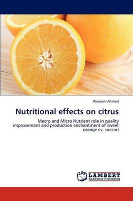 Nutritional Effects on Citrus