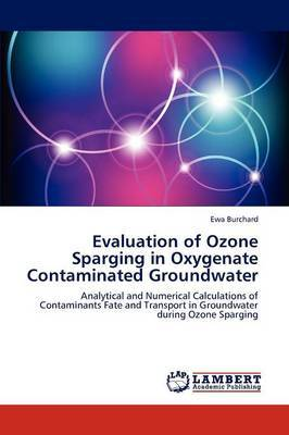 Evaluation of Ozone Sparging in Oxygenate Contaminated Groundwater