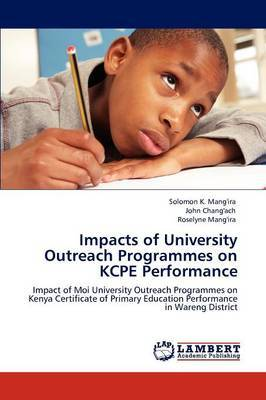 Impacts of University Outreach Programmes on Kcpe Performance