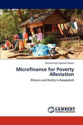 Microfinance for Poverty Alleviation