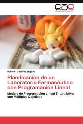 Planificacion de Un Laboratorio Farmaceutico Con Programacion Lineal