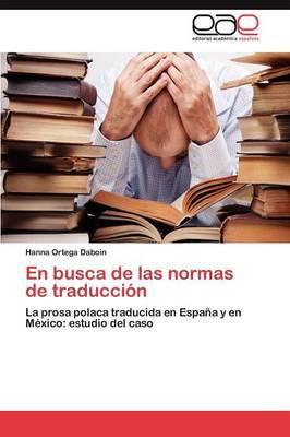 En Busca de Las Normas de Traduccion