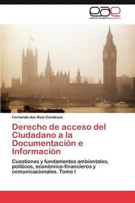 Derecho de Acceso del Ciudadano a la Documentacion E Informacion