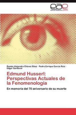Edmund Husserl: Perspectivas Actuales de La Fenomenologia