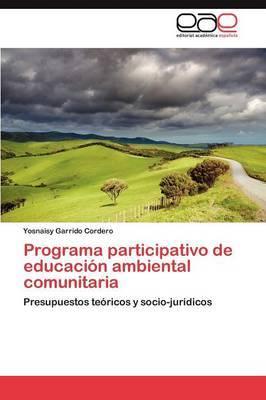 Programa Participativo de Educacion Ambiental Comunitaria