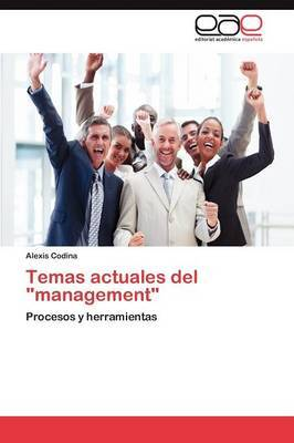 Temas Actuales del Management